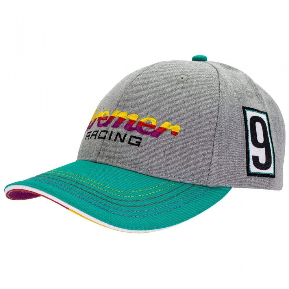 9a7087d160d4 Kremer Racing Porsche 911 Carrera #9 Cap 2018 Grey/Green ADULT