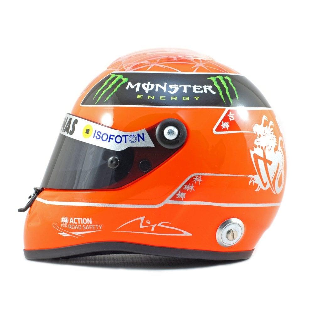 Schuberth 1 2 Mini F1 Helmet Michael Schumacher 2012 Diecast Models From Le Mans 88 Uk