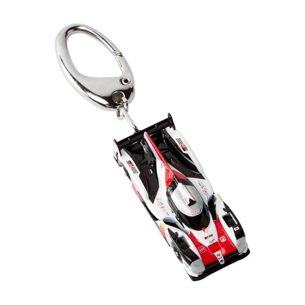 Toyota Gazoo Racing I Love Racing Cars Rubber Keyring 2019