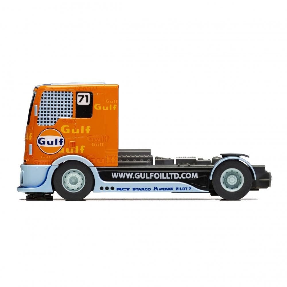 Scalextric 1 32 Slot Car Gulf Racing 71 Truck