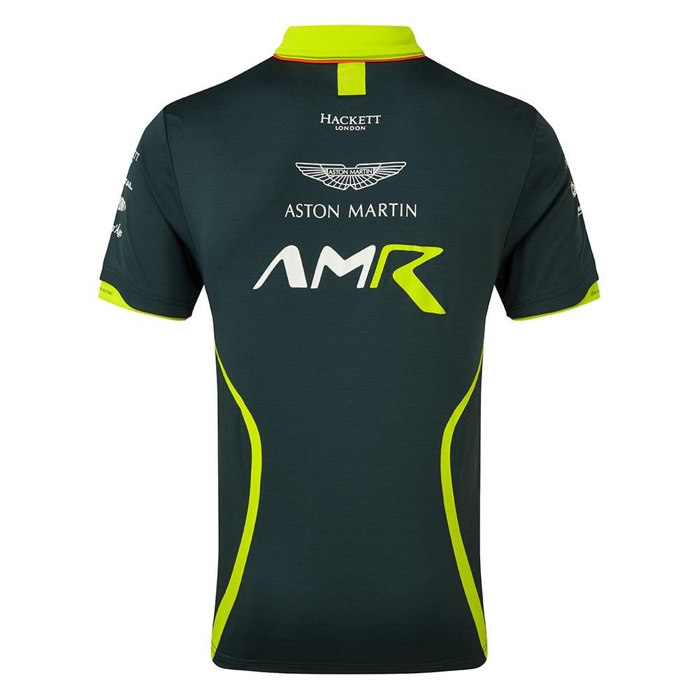 Aston Martin Racing Team Limited Edition T-Shirt 2019 Navy /& Lime Green ADULT