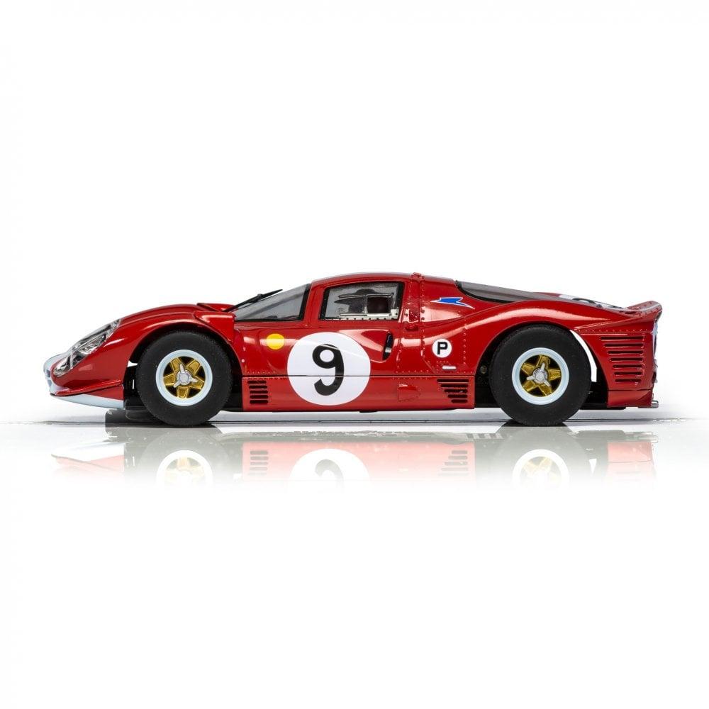 Scalextric 1:32 Slot Car Ferrari 412P #9 Attwood & Piper