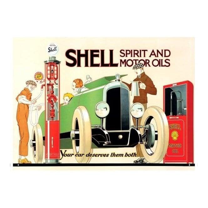Red Hot Lemon Keepsake Metal Tin Shell How to Buy Oil Vintage Advert