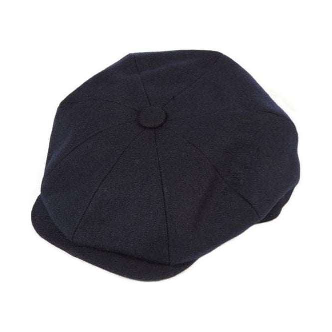 Christys/' Hats Baker Boy Cap Linen Navy