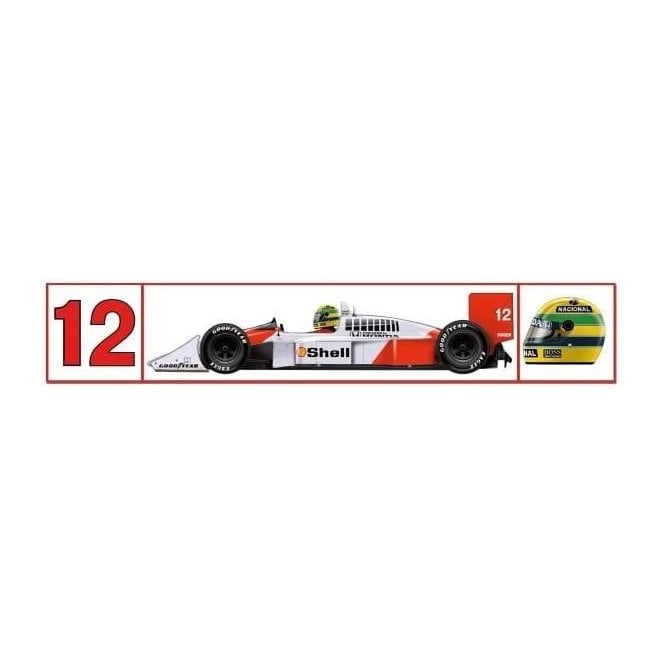 Sticker Mclaren Mp4 4 F1 Car 30 X 6cm