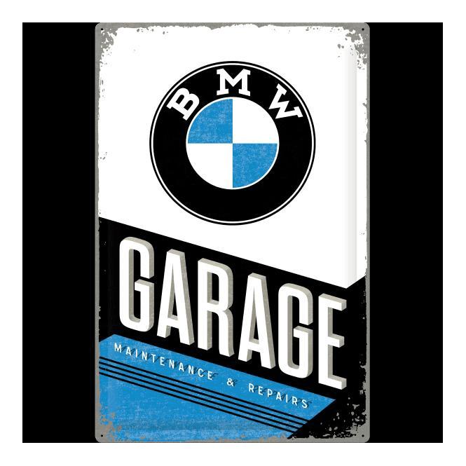 Nostalgic Art Métal Coaster BMW garage Rétro Logo