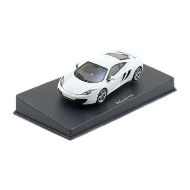 Autoart 1 43 Mclaren Mp4 12c White Diecast Models From Le Mans 88 Uk