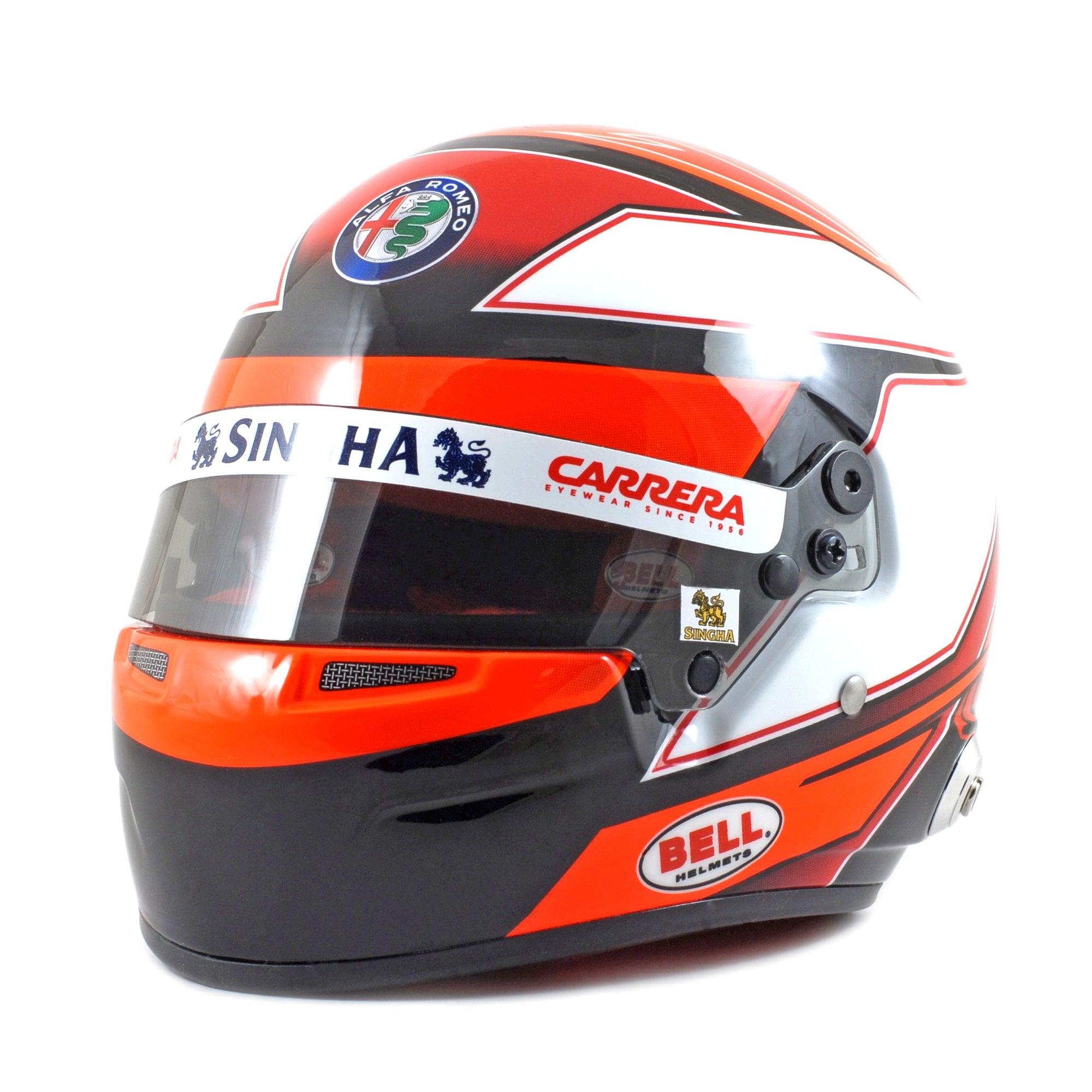 1:8 Spark Alfa Romeo Racing Helmet raikkonen 2019